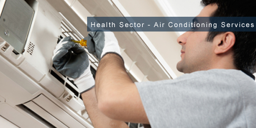 air conditioning building services health sector image