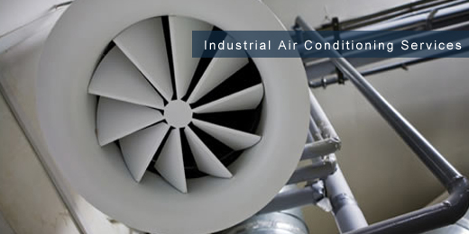 industrial air conditioning installation and maintenance services - sector image