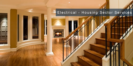 electrical installation and maintenance services for housing - sector image
