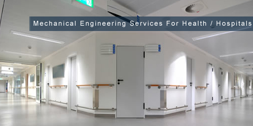 mechanical engineering services to the health service and hospitals sector image