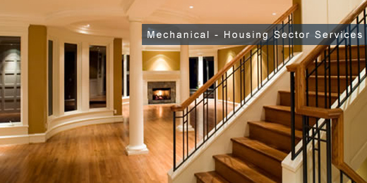 mechanical installation and maintenance services for housing - sector image