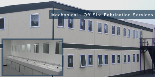 off site fabrication mechanical installation and maintenance sector